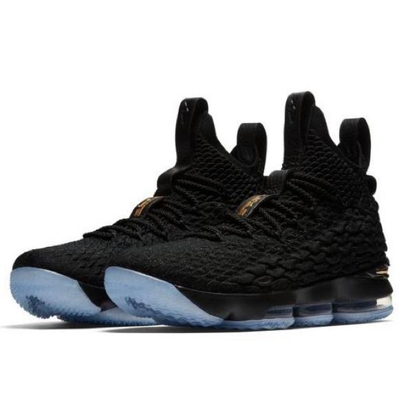 Nike Shoes   Lebron 15 Black Gold